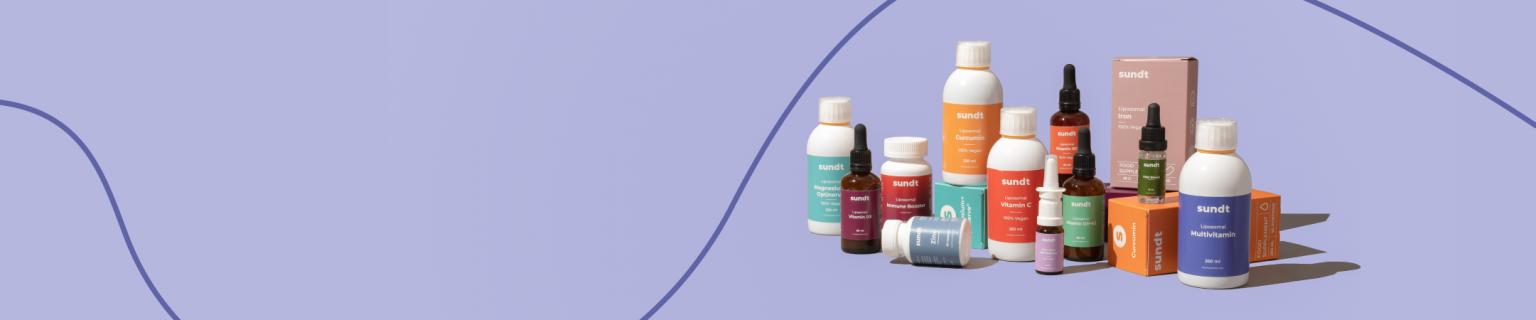 <p>Des suppléments pour vous aider à vous sentir au mieux de votre forme.</p>